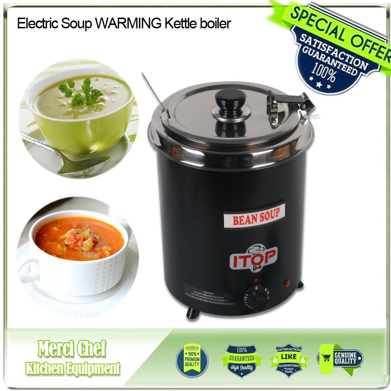 2017 New arrival Food Machine Electric Soup WARMING Kettle boiler stainlesssteel black 5.7L Iron spraying body Household Machine new arrival electric body for stra tocaster in flash black