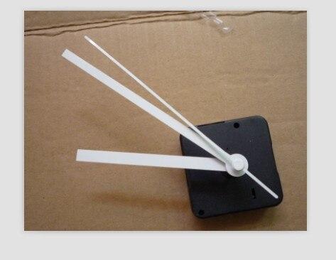 15ps Good Quality 3 Colors Needles Long Axis Quiet  DIY Quartz Clock Movement Set Kit Spindle Mechanism Full Set With Shaft 20mm