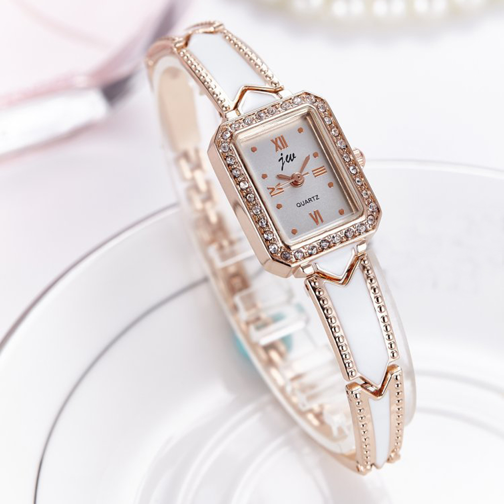 New Fashion 2017 Luxury Rhinestone Watches Women Stainless Steel Quartz Watch For Ladies Dress Watch Gold Clock relogios AC074 4 string 4 4 3 4 new electric acoustic violin yellow 1