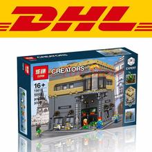 DHL LEPIN 15015 5003pcs City Creator The dinosaur museum MOC Model Building Kits Minifigures Brick Toy Christmas Gifts