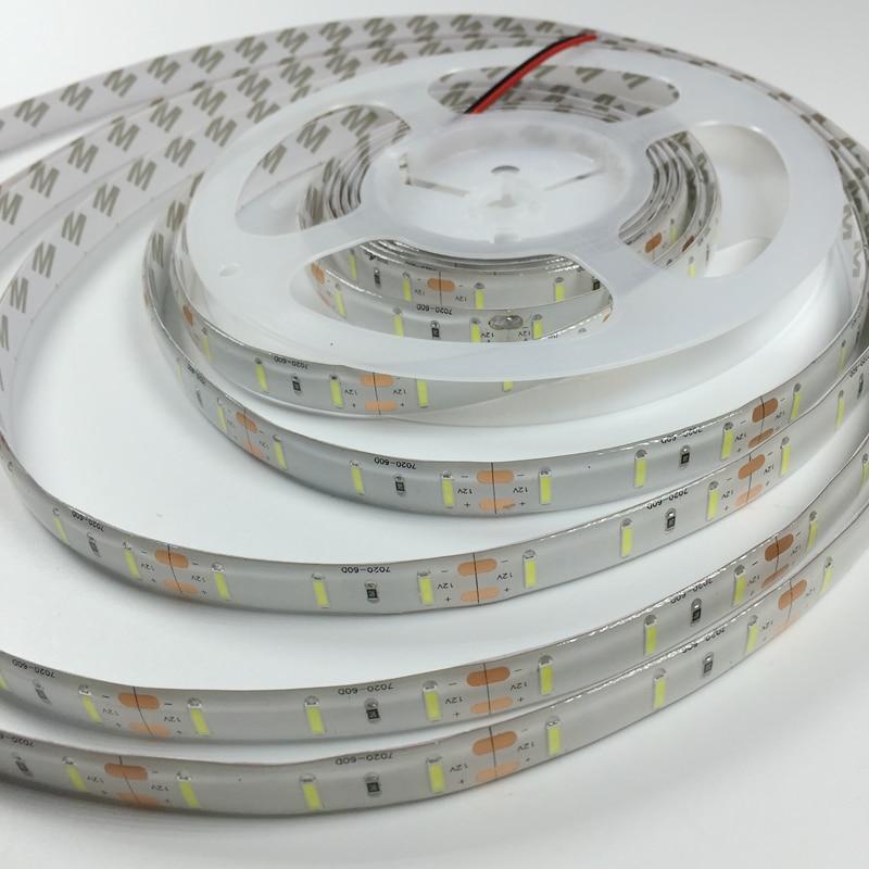 Új érkezés nagy fényerejű 7020 SMD LED szalagfény 5m 300LEDS - LED Világítás