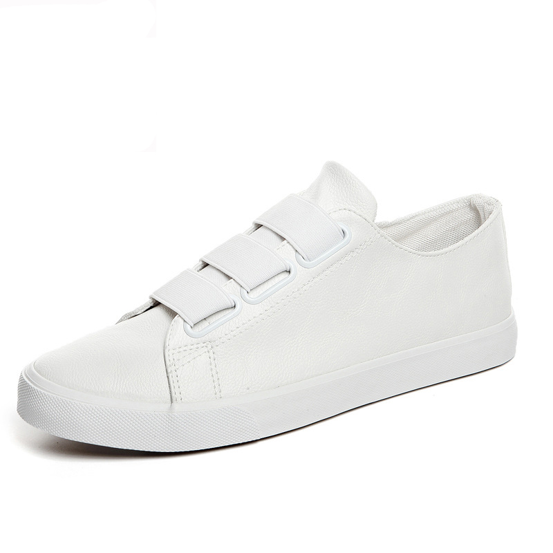 Mens Zapatos de Verano Hombres Zapatos Casuales Transpirable de Cuero de La Pu d