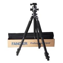 High Quality Professional Aluminum Fancier FT-663T Photo Video Tripod with FT-6664H Ball Head Portable Digital Camera Tripod