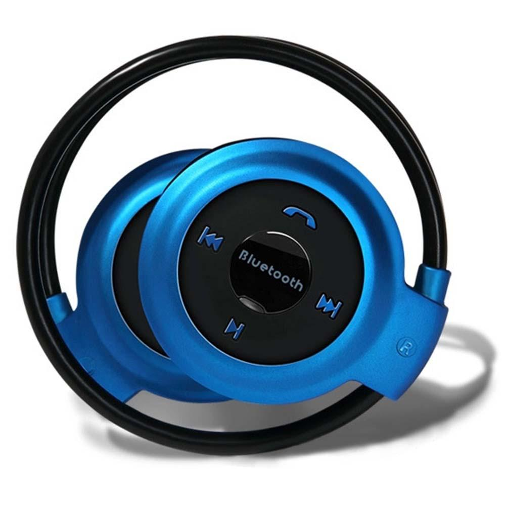 Sport Wireless Bluetooth 3.0 Headset Headphone Earphone Stereo Mini 503 Blue best workout headphones headphones for running A273