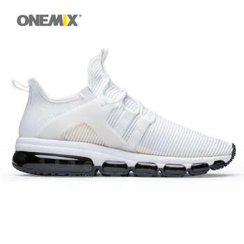 air running shoes for men white sneakers jogging trekking shoe mesh vamp Sneaker light walking sneakers big size 36-47