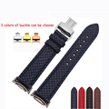 Hot sale watchband 20MM High quality Genuine leather watch strap weave grain  for Samsung Gear S2 Classic R720 watch bracelet