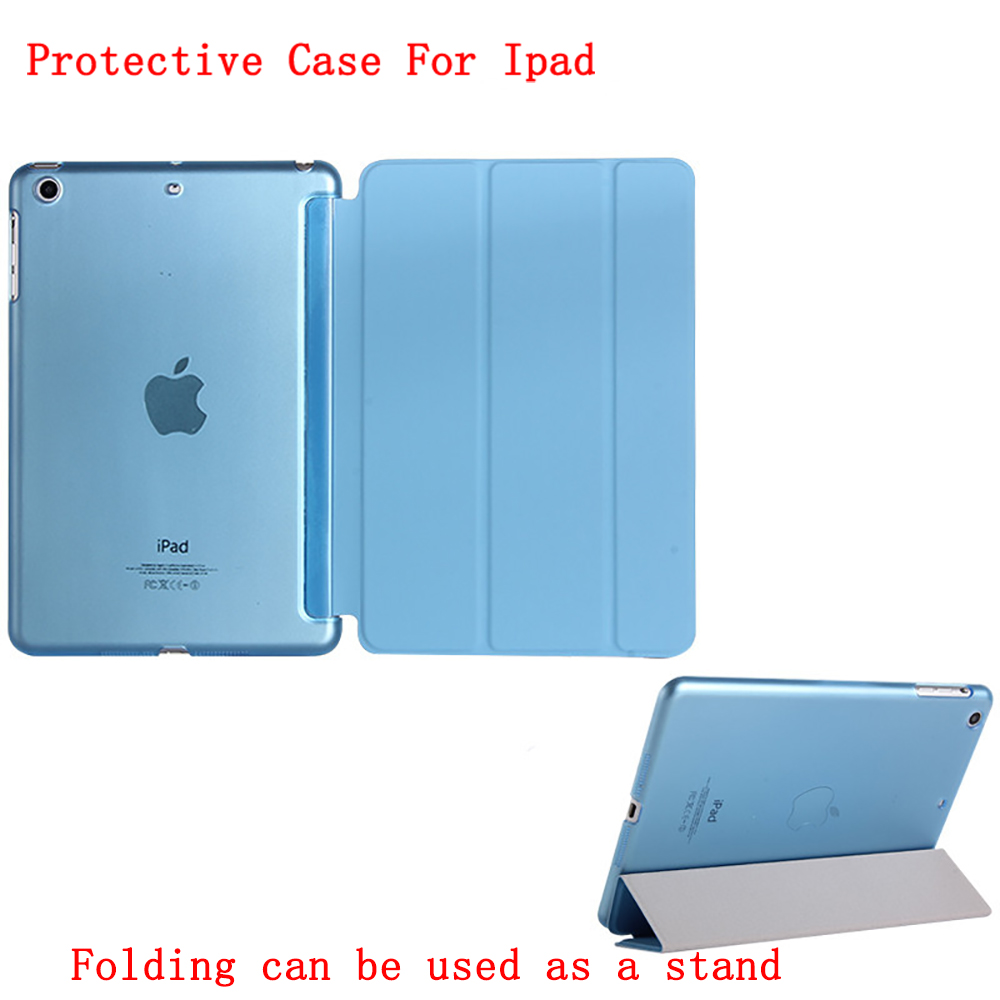 Tablet Cover Case For iPad Pro 11 inch 2018 waterproof Slim shell Smart Stand Anti-fall shockproof Folding z7