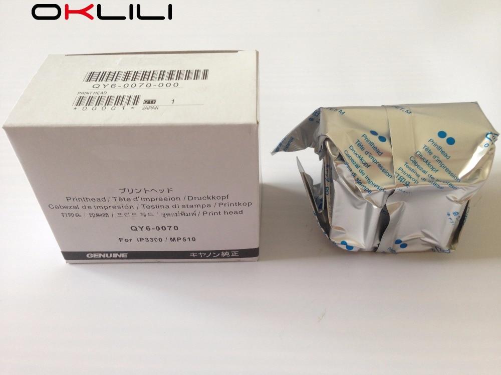ФОТО ORIGINAL QY6-0070 QY6-0070-000 Printhead Print Head Printer Head for Canon MP510 MP520 MX700 iP3300 iP3500