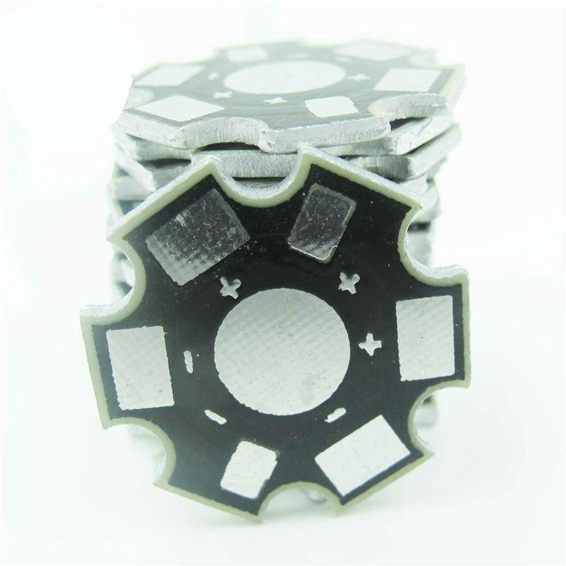 100PCS 1W 3W High Power LED PCB Aluminum Star base DIY PCB 20mm M98