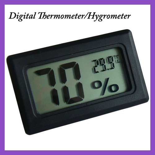 New 10PCS Mini Digital LCD  thermo-hygrometer thermometer hygrometer LCD  display temperature and humidity meter free shipping free shipping relay digital pv sv display temperature control meter 0 400c ac220v 50 60hz
