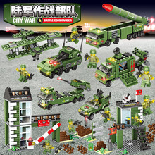 1219Pcs Military Base Technic War Missile Launcher Building Blocks Sets Army WW2 LegoINGLs Bricks Kids Toys Christmas Gifts