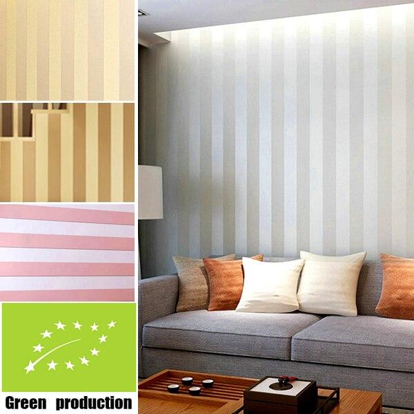 Buy modern joker stripes wallpaper 3d for for Striped wallpaper living room ideas