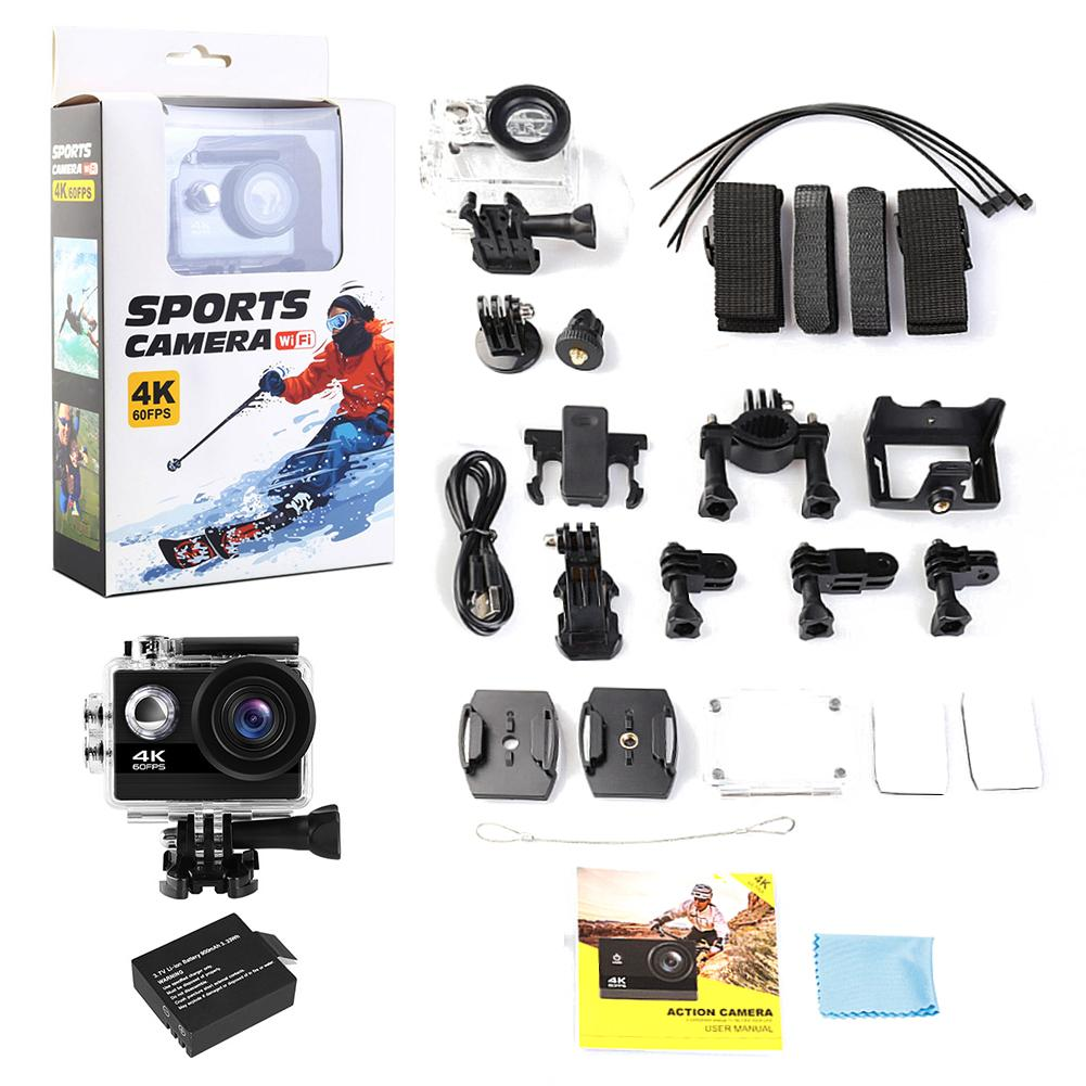 Original Action Camera H9 Ultra HD 4K Wireless Remote Control Sports Video Camera DVR DV Transfer Waterproof Professional Camera(China)