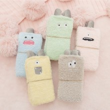 PEONFLY Embroidery Monster Thickening women cotton Keep Warm