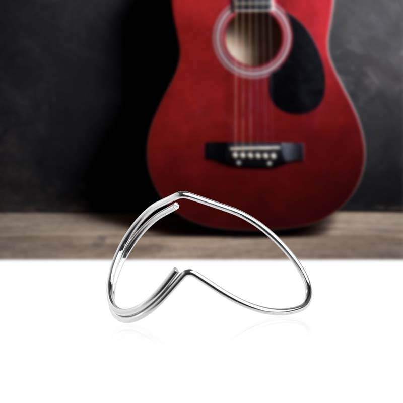 4 pcs Lot Picking Guitar Fingerstyle Picks Finger Butterfly Silver Metal Classic Custom Guitar Pick Finger