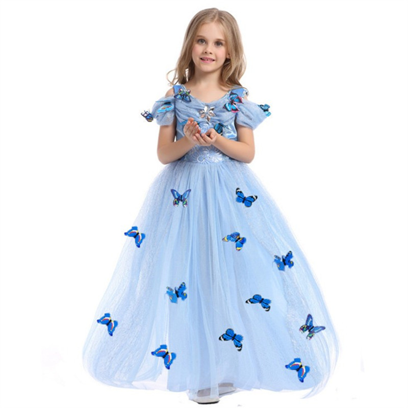 HTB1KHVpwBmWBuNkSndVq6AsApXav Aladdin Fairy Princess Costume Rapunzel Princess Dress Halloween Carnival Aurora Cosplay Dress up Kids Baby Anna Elsa Dresses