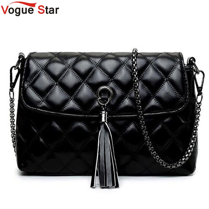Vogue Star Women Messenger Bags Quilted Leather Women Bag Chain Cross-body Handbag Women's Handbag Brand Lady Shoulder bag LB119 vogue star women bag for women messenger bags bolsa feminina women s pouch brand handbag ladies high quality girl s bag yb40 422