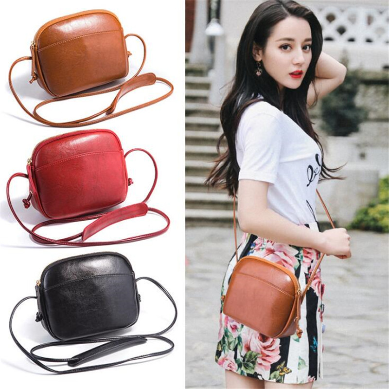 Promotion 2019 New Crossbody Bags For Women Mini Shelll Bags Fashion PU Leather Shoulder Bag Ladies Messenger Bag bolso mujer
