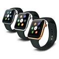 Nueva a9 inteligente smartwatch reloj bluetooth deporte apoyo heart rate monitor remoto de la cámara para apple iphone ios android teléfono