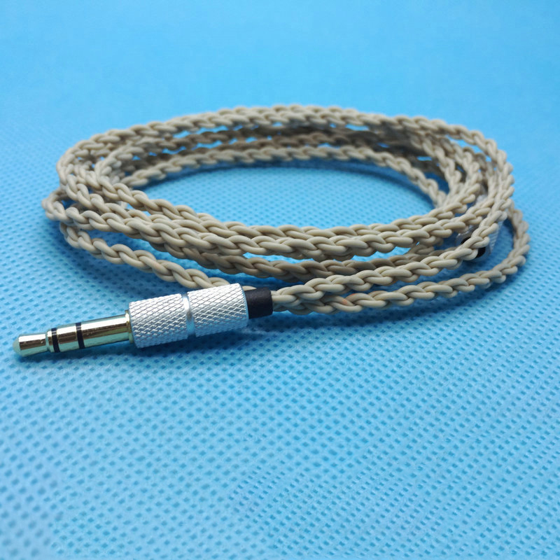 6N Upgrade Hifi Cable Earphone Replacement Cable Single Crystal ...