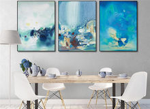No Frames Chinese Ink Abstract Painting Home Decor Poster Wall Pictures Printed Canvas for Living Room Wall Art Pictures(China)