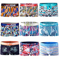 JINSHI Men's Boxers Knickers Pouch Men Shorts Underwear Boxer Underpants Panties  (JS)