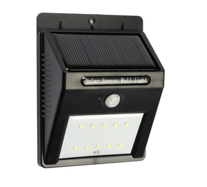 10LED Solar Light Solar Power PIR Motion Sensor LED Garden Light Outdoor Pathway Sense Solar Lamp Wall Light