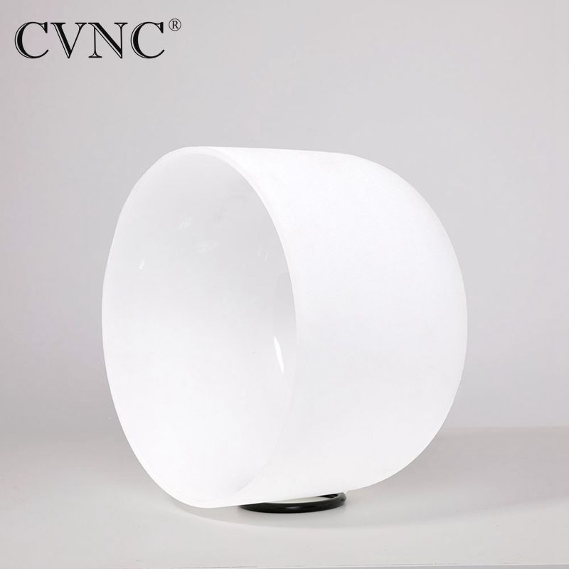 CVNC  8 Note C Root  Chakra Frosted Quartz Crystal Singing Bowl  From USA  free shipping costCVNC  8 Note C Root  Chakra Frosted Quartz Crystal Singing Bowl  From USA  free shipping cost