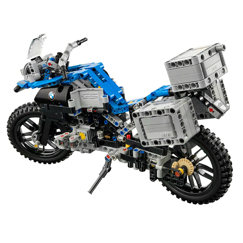 все цены на Lepin 20032 603Pcs Technic The car Off-road Motorcycles R1200 GS Building Blocks Bricks Educational Toys For Children 42063 онлайн