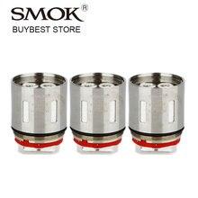 Original 3pcs Original SMOK V12-T12 Coil Core for Smok TFV12 Tank 0.12ohm Duodenary Coil tfv 12 Atomizer Replacement Coil Head