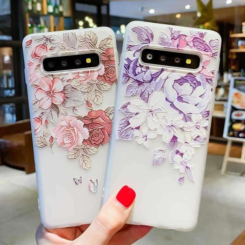3D помощи чехол для Samsung Galaxy A5 2017 A7 2018 S8 S7 край S9 S10 плюс J3 J5 J7 A3 A5 A7 2017 A7 A8 плюс A6 плюс 2018 силиконовые чехлы samsung galaxy a50 a30 чехол