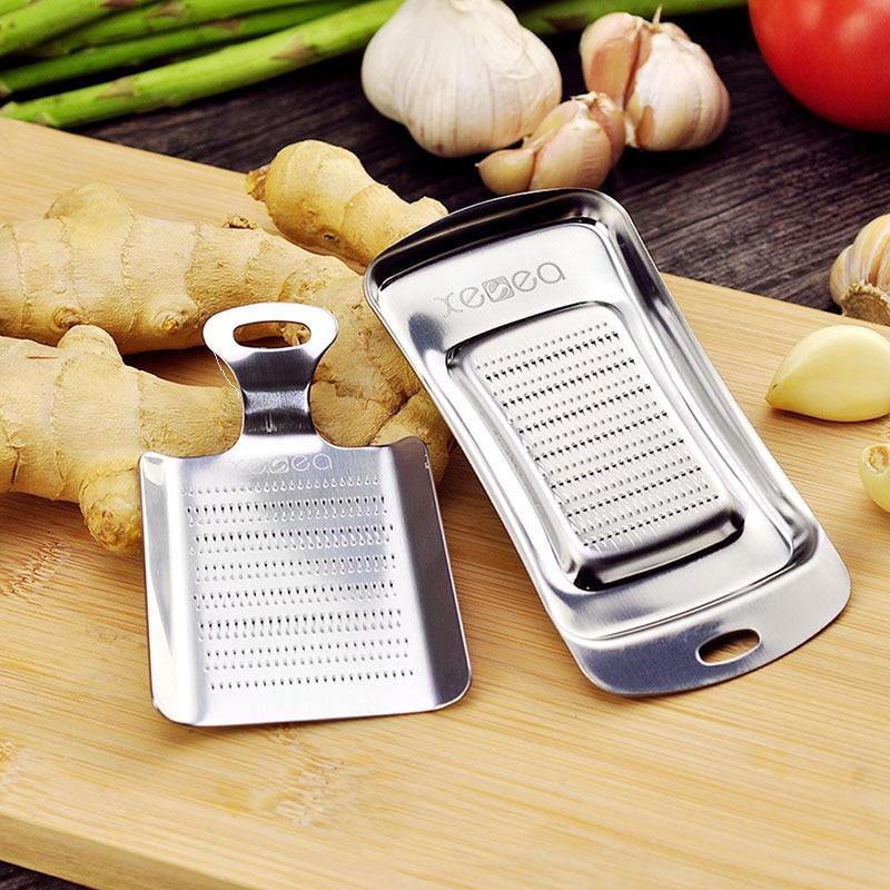 Kitchen tools 430 stainless steel grinding garlic grinding ginger home gadget kitchen accessories kitchen appliances
