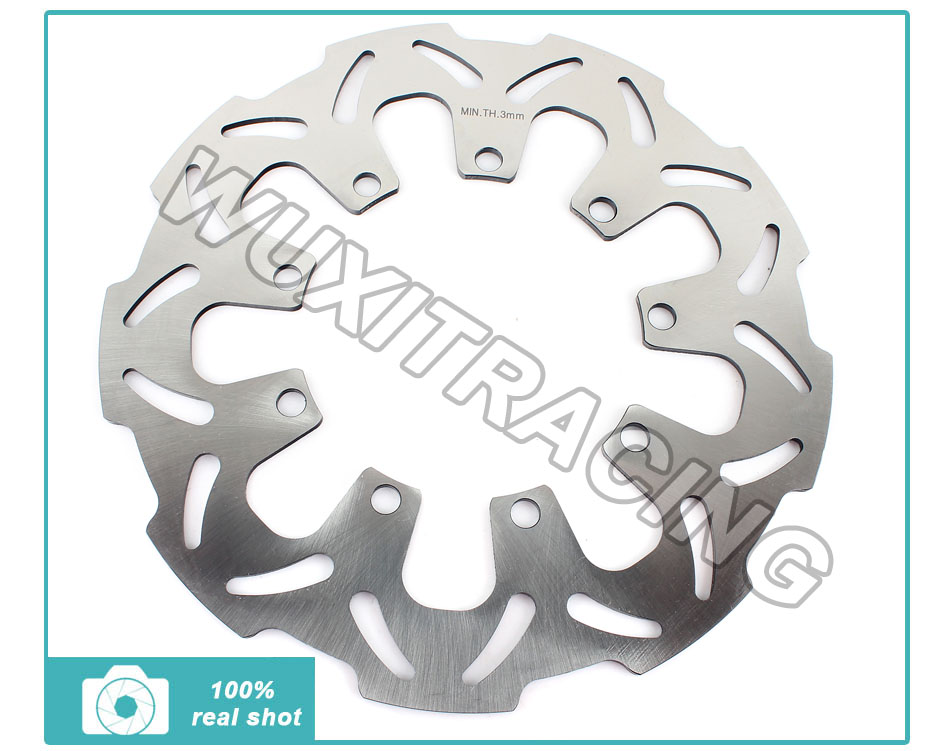 ФОТО Front Brake Disc Rotor Motorcycle Brake Disc for KAWASAKI KLR 650 C C1-C10 1994-2007 KLR 650 E E8F E9F EAF EBF ECF 2008-2013