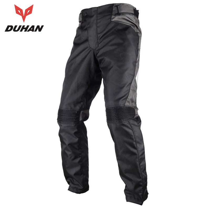 DUHAN Coldproof Oxford Pants Motorcycle Off-road Racing Pants Trousers Motorcycle Hip Protector Anti Fall Pants DK-015