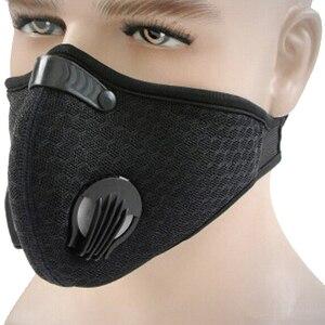 Image 5 - 1 шт. фильтр с активированным углем Ветрозащитная маска PM2.5 для защиты от пыли многоцветные маски для лица для велоспорта и пешего туризма