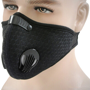 Image 5 - 1pc Activated Carbon Filter Windproof Mouth muffle PM2.5 Anti Dust Mask Multicolor Proof Face Masks For Cycling Hiking