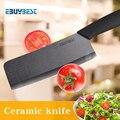Керамический нож шеф-повара с фианитом  6 5-дюймовый нож с черным лезвием  кухонные ножи для мяса  Кухонные керамические ножи