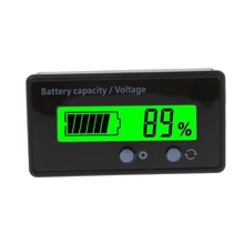 цена на 8-70V LCD Acid Lead Lithium Battery Capacity Indicator Voltmeter Voltage Tester