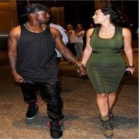2017 Fashion New Kanye Hip Hop Big And Tall Fashion Zippers Jogers Pant Joggers Dance Urban
