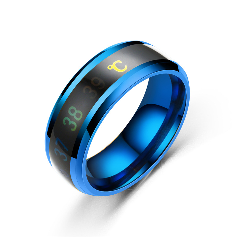 HTB1KHYoMMHqK1RjSZFEq6AGMXXa2 - Temperature Ring Titanium Steel Mood Emotion Feeling Intelligent Temperature Sensitive Rings for Women Men Waterproof Jewelry