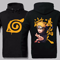 Naruto Hoodie 2017 Anime Uchiha Sasuke Cosplay Coat Uzumaki Akatsuki Naruto Jacket Winter Men  Sweatshirts