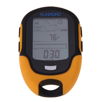 Waterproof FR500 Multifunction LCD Digital Altimeter Barometer Compass Free Shipping H1E1