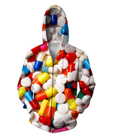 Frauen/männer Farbe pillen 3D print Sweatshirts Hoodies Reißverschluss oberbekleidung S M L XL XXL 3XL 4XL 5XL
