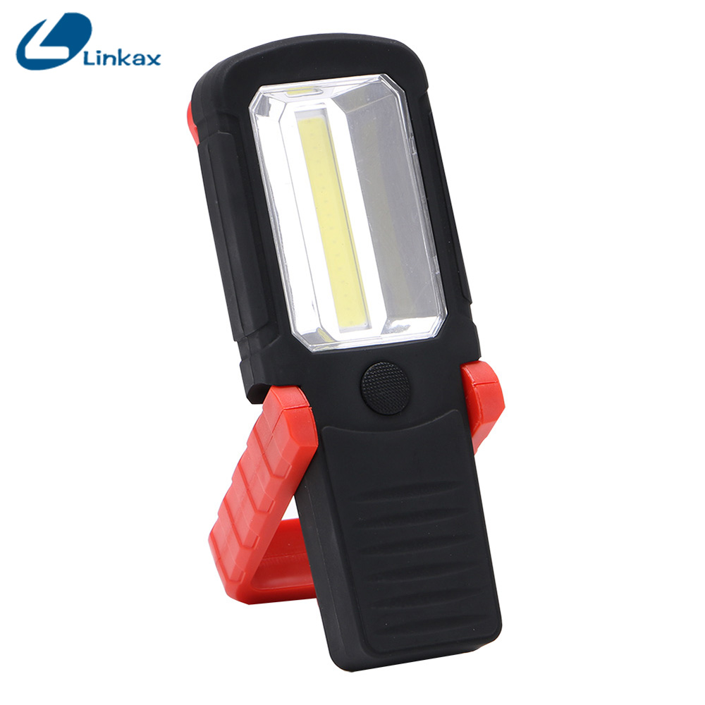 Magnet Hanging Torch Hiking Lamp Mini Lantern LED Flashlight Pocket Light