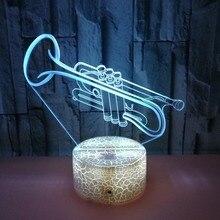 Маленький 3D ночник креативный 3 D лампа визуальное освещение для украшения комнаты рождественский подарок, новинка для малышей