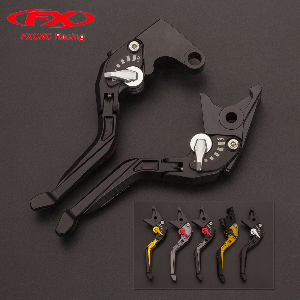 FX CNC Adjustable 3D Rhombus Motorcycle Folding Extendable Brake Clutch Levers Fit For Yamaha YZF-R THUNDERACE 1000 1996 - 2000 for yamaha nmax 155 nmax155 all yreas cnc motorcycle adjustable folding extendable 170mm lever hot clutch brake levers 2 styles