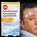 120 Шт./10 Коробки 0.95 см Х 4.4 см Водонепроницаемый Band aid Butterfly Клей Закрытия Раны Band Aid Adhesive бинты