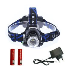 LED Headlight 3000 lumen CREE T6 led headlamp zoom 18650 LED Head Lamp Light Torch Camping Fishing Adjust Focus For Bicycle