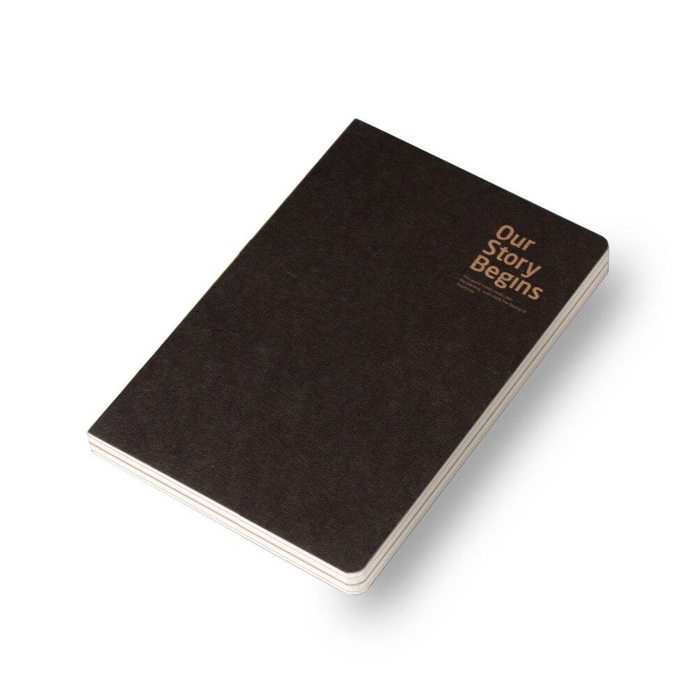 2019 B5 A5 A6 mini lindo libro Bloc cuaderno de pintura dibujo diario de la Oficina de la escuela suministros de papelería