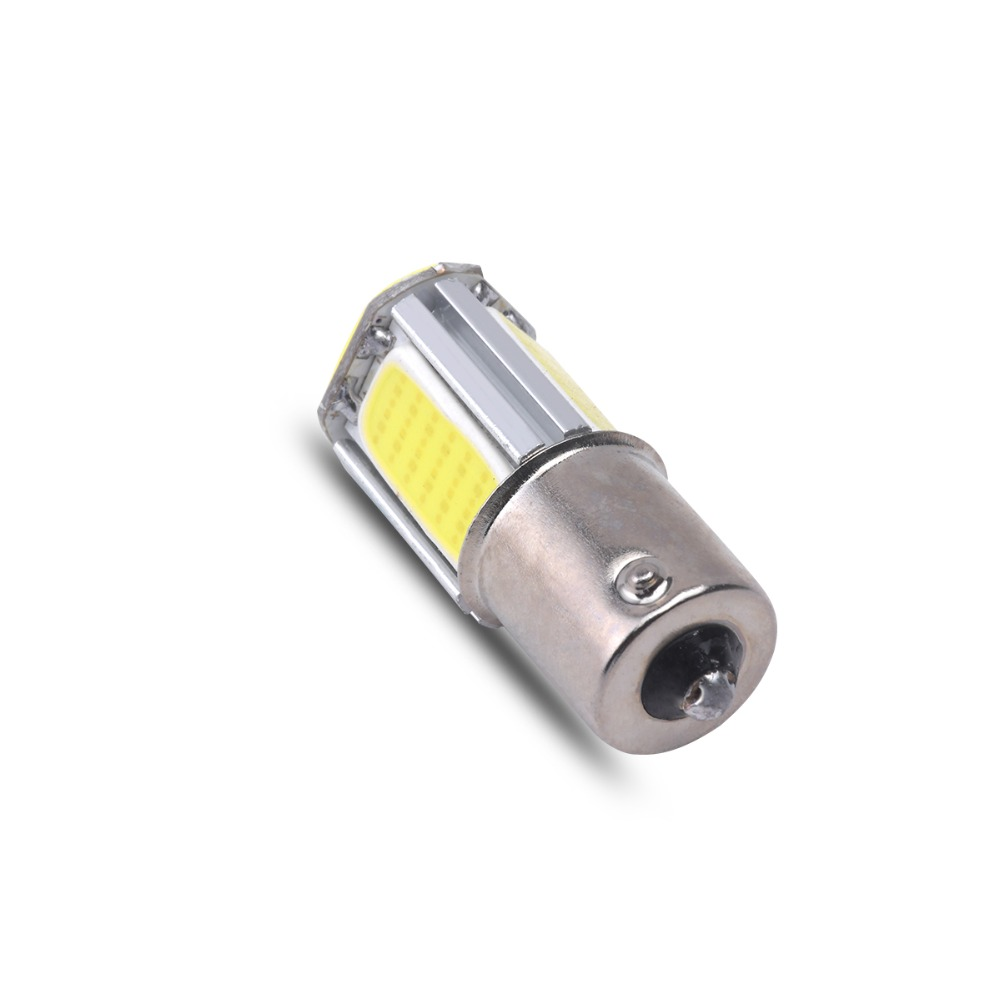 1156 BA15S 4 Led Light P21 W COB Car light for car Turn Signal Lights Reverse Lamps Parking Bulbs Backup Tail Lighting DC 12v